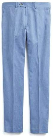 Todd Snyder Cotton Linen Trouser in Peri Blue