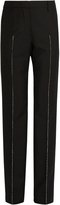Jil Sander Benjamin straight-leg wool-blend trousers