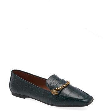 Kurt Geiger Camilla Croc Embossed Loafer
