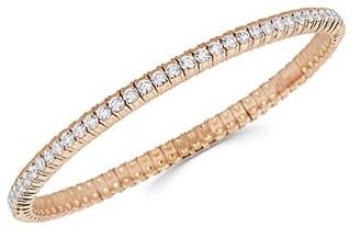 Zydo Stretch 18K Rose Gold Diamond Bracelet