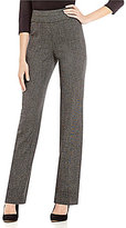 Investments the PARK AVE fit Pull-On Modern Straight Leg Tweed Pants