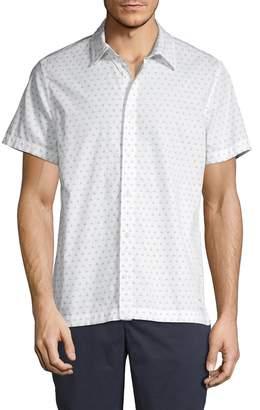 Calvin Klein Jeans Short-Sleeve Monogram Shirt