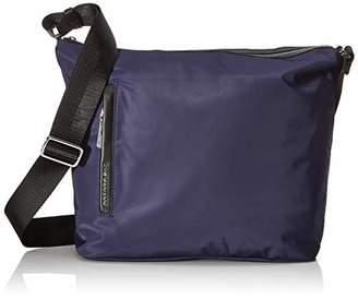 Mandarina Duck Women's Mellow Leather Bum Bag/Nero Cross-Body, Black, (W x H x L)