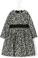 Il Gufo leopard print dress