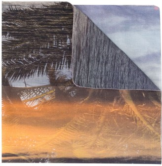 Tara Matthews x Mr Azara Murtoli Palm sarong skirt