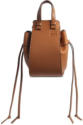 Loewe Mini Hammock Grained Leather Bag