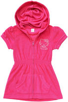 Hello Kitty AGE Group Terry Zippered Pink Hoodie Dress - Size 4