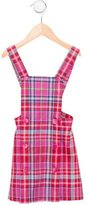 Oscar de la Renta Girls' Plaid Wool Dress w/ Tags