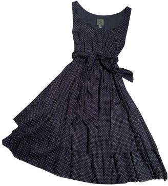 Calvin Klein Blue Cotton Dress for Women