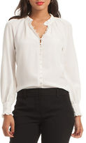 Trina Turk Solid Spontaneous Top
