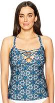 Athena Women's Marrakesh Medallion Alessandra Tankini Top