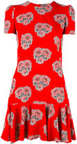 Alexander McQueen poppy print dress - women - Silk - 40