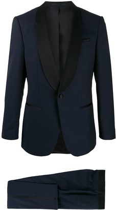 BOSS Contrasting-Lapel Two-Piece Dinner Suit