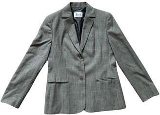 Harrods Grey Wool Jackets