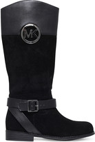 MICHAEL Michael Kors Zia-Emma Blaire leather boots 6-11 years