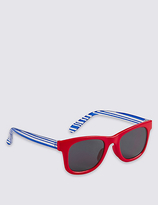Marks and Spencer Kids' Striped Sunglasses (Younger Boys)