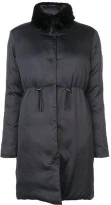 Giambattista Valli Detachable Collar Coat