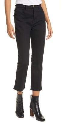 Frame Le Sylvie High Waist Kick Boot Jeans