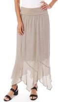 Apt. 9 Petite Gauze Handkerchief Hem Skirt