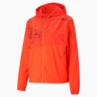 Puma Graphic Women's Hooded Running Jacket