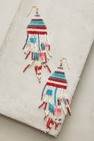 Anthropologie Lake House Beaded Drop Earrings