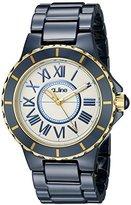 A Line a_line Women's 20040-WWWRR Marina Blue Ceramic Watch