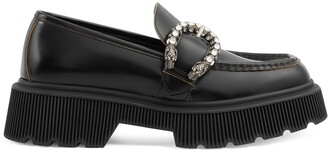 Gucci Women's loafer with tiger head