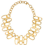 Kenneth Jay Lane Double Row Collar Necklace