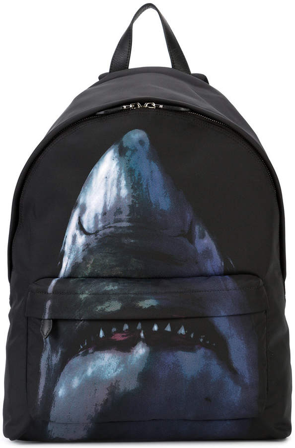 Givenchy shark print backpack