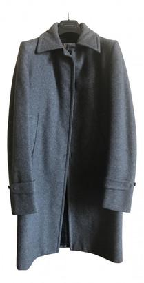 CNC Costume National Grey Wool Coats