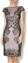 Tadashi Shoji Perforated Neoprene Dress