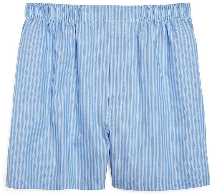 Brooks Brothers Slim Fit Framed Stripe Boxers