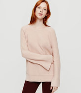LOFT Lou & Grey Bell Sleeve Sweater