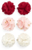 Capelli of New York 6-Pack Flower Hair Clips