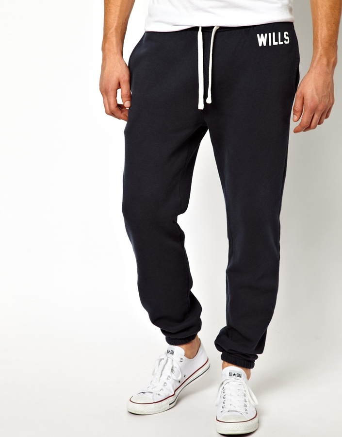 Jack Wills Sweatpant with Wills Logo -Slim Fit