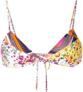 Roseanna floral bikini top