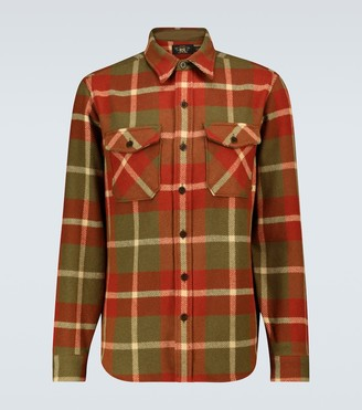 Ralph Lauren RRL Checked wool overshirt