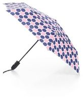 ShedRain Polka Dot Auto-Open Folding Umbrella