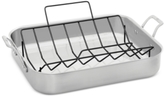 "Calphalon Signature Stainless Steel 16"" Roaster with Rack"