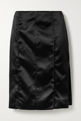 Kwaidan Editions Satin Skirt - Black