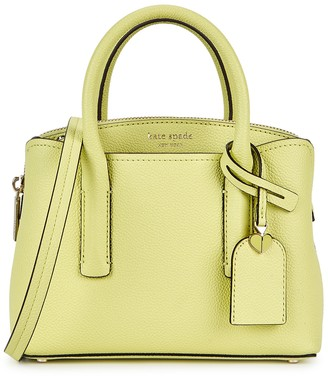 Kate Spade Margaux mini lime leather cross-body bag