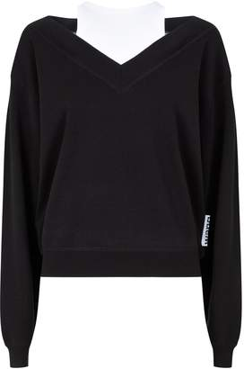 Alexander Wang Layered Knitted Sweater
