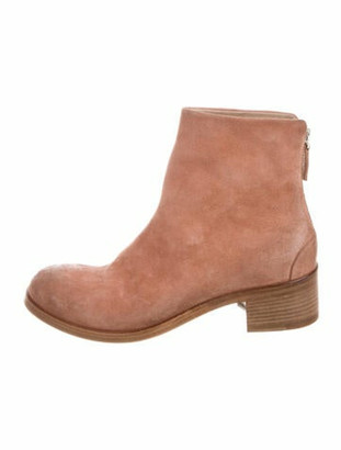 Marsèll Suede Distressed Accents Boots w/ Tags Pink