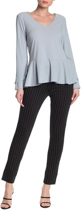 ECI Grid Print Pull-On Pants