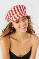 Brixton Fiddler Fisherman Red Stripe Hat