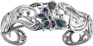 Carolyn Pollack Sterling Natural Beauty Butterfly Cuff