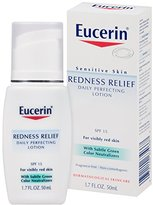 Eucerin Sensitive Skin Redness Relief Daily Perfecting Lotion 1.7 Fluid Ounce