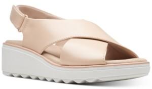 Clarks Collection Women's Jillian Jewel Wedge Sandals Women's Shoes