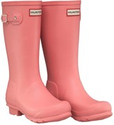 Hunter Girls Wellington Boots Panther Pink