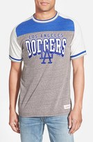 Mitchell & Ness Men's 'Los Angeles Dodgers - No Hitter' Tailored Fit Graphic T-Shirt